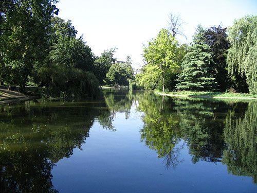 Lac Saint-Mandé in Bois de Vincennes