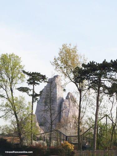 Rocher du Zoo du Bois de Vincennes