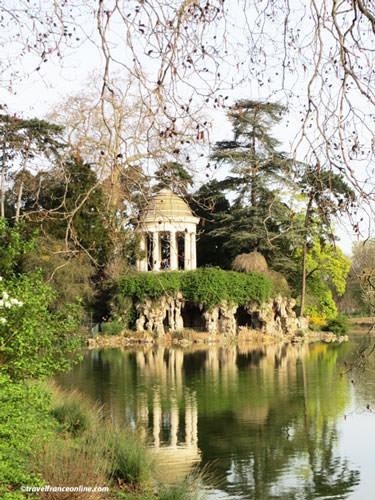 Temple of Love in Bois de Vincennes