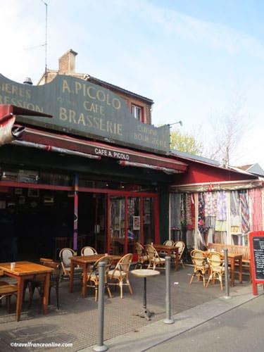 Marche aux Puces de St-Ouen - Café Picolo