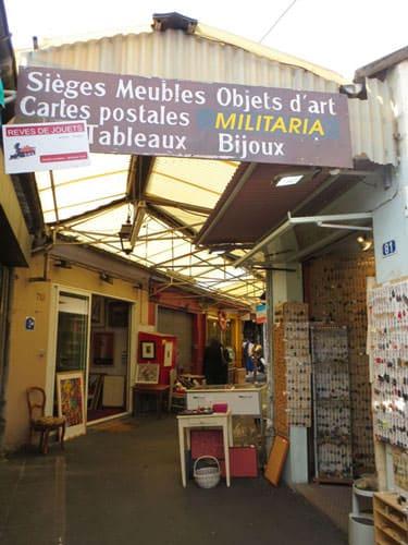 Marche aux Puces de St-Ouen - Marché Vernaison