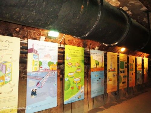 Learning about Paris sewers' water system