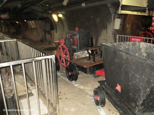 Locomotive in Paris sewers