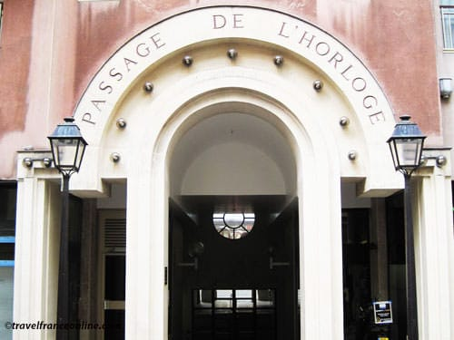 Quartier de l'Horloge - Passage de l'Horloge on Rue Beaubourg