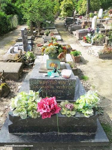 Cimetiere des Chiens - Rintintin's grave