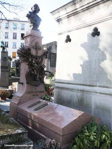Montmartre Cemetery - Jacques Offenbach's grave