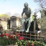 Montmartre Cemetery - Jean Bauchet's grave