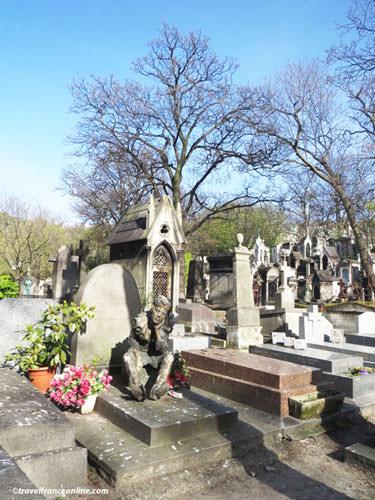 Montmartre Cemetery - Dancer Vaslav Nijinsky's grave