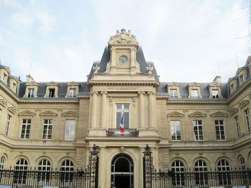 Quartier du Temple - Mairie du 3eme Arrondissement