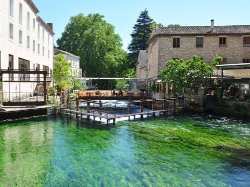 Fontaine de Vaucluse mill