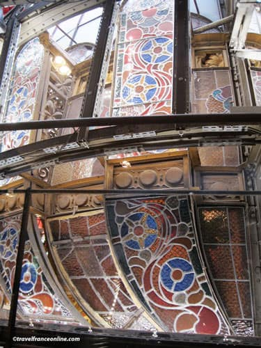 Galeries Lafayette - Behind the glass cupola