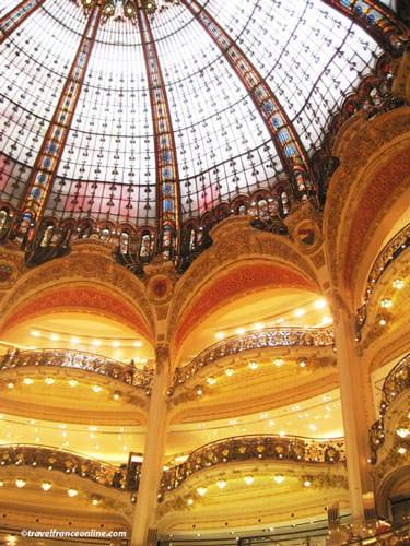 Galeries Lafayette loggias and cupola