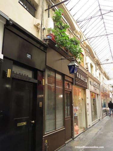 Passage du Caire - Renovated shops