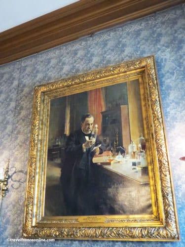 Pasteur Museum - Pasteur in his laboratory by Edelfelt