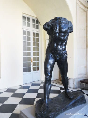 Rodin Museum - L'Homme qui marche