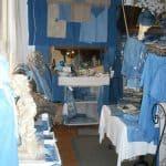 Shop selling pastel-colour clothes
