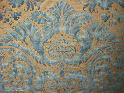 Wallpaper in the Pastel Room in Ca' Rezzonico, Venice