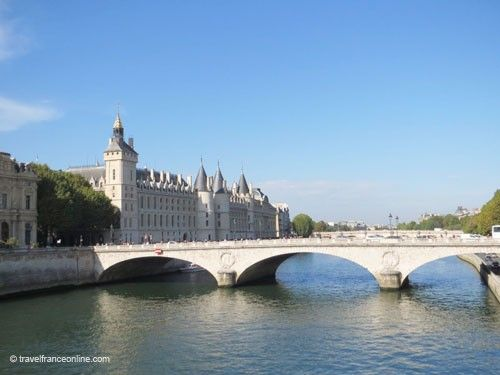 Pont au Change with Conciergerie in the background
