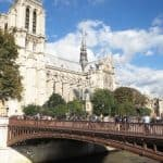 Pont au Double and Notre-Dame Cathedral