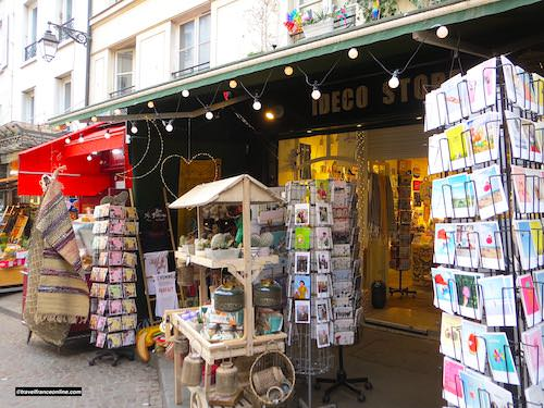 Shop in Rue Mouffetard