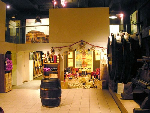 Chateauneuf du Pape village wine museum
