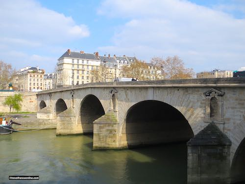 Pont Marie seen from the Ile Saint-Louis