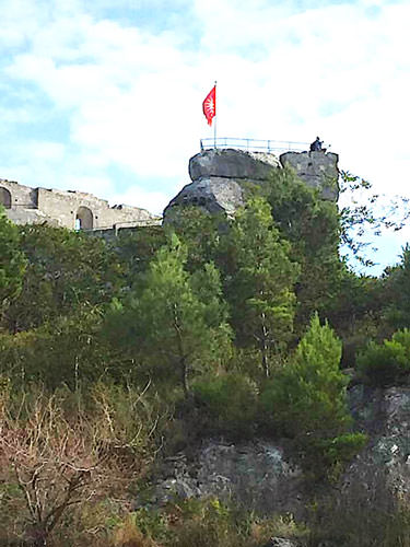 Baux de Provence - ruined fortress