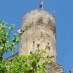Keep of the castle of Najac