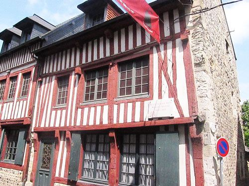 Birthplace of Eric Satie in Honfleur