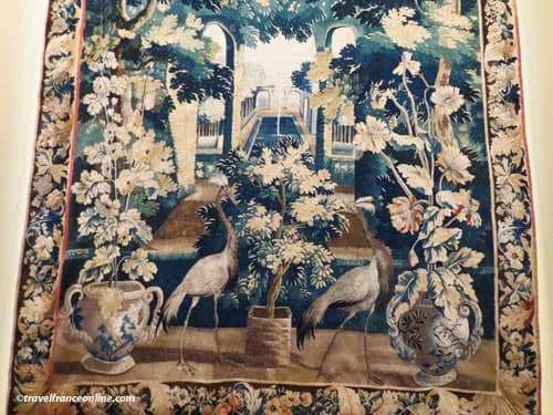 Aubusson Tapestry - Verdure - Louis XIV Collection - wool-silk - 1671
