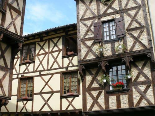 Rue des Boucheries in Billom
