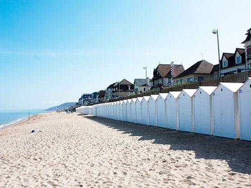 Beach huts in Cabourg