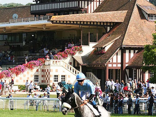 Clairefontaine racecourse in Deauville