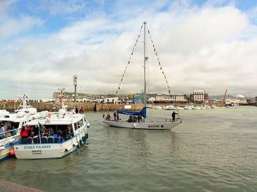 Le Treport harbour