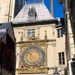 Gros Horloge in Rouen