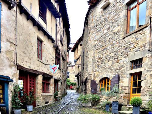Medieval lane in Billom