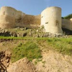 Falaise Castle fortifications