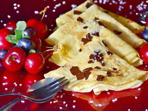 French pancakes recipe