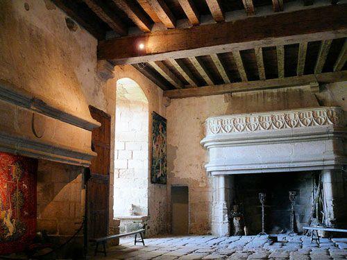 Chateau de Boussac - Salle des Gardes