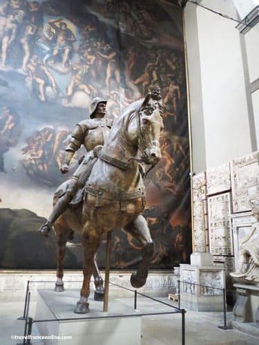 Ecole des Beaux-Arts de Paris - Equestrian statue of the Colleone