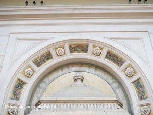 National Academy of Medicine - Art Nouveau decoration in Salle Bader