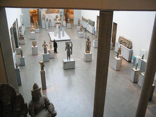 Guimet Museum - Ground-floor exhibition hall