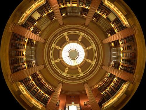 Guimet Museum - Rotunda in the library