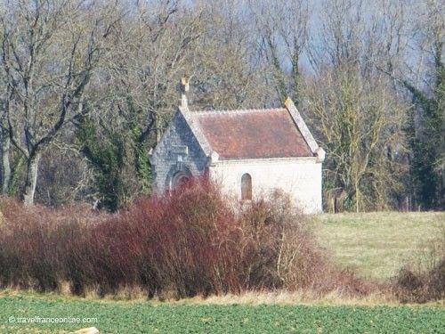 La Royere - Ste. Berthe chapel