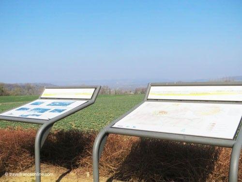 La Royere - Orientation tables