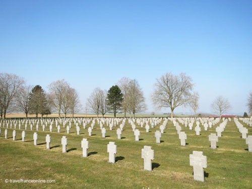 Cerny-en-Laonnois German War Cemetery