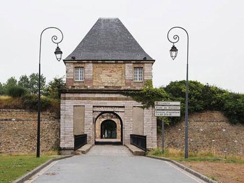 Citadel of Calais - entrance to Stade du Souvenir