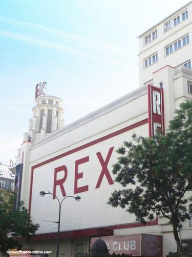 Grand Rex Cinema - Facade on Boulevard Poissonniere