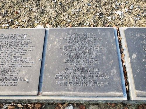 Neuville-Saint-Vaast German War Cemetery - Names of the Missing