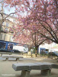 Square Gabriel Pierne bench